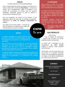 CISPM la lettre T3 2019