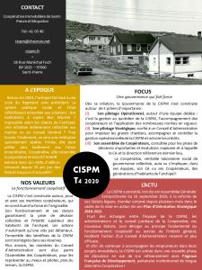 Lettre Trimestrielle CISPM T4 2020
