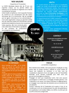 Lettre Trimestrielle CISPM T2 2021
